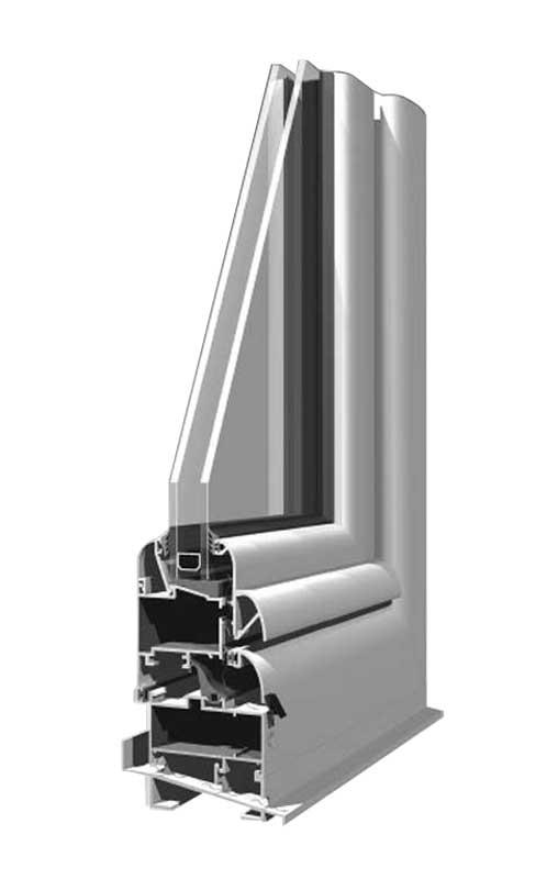 Aluminijumska stolarija Elvial 2000
