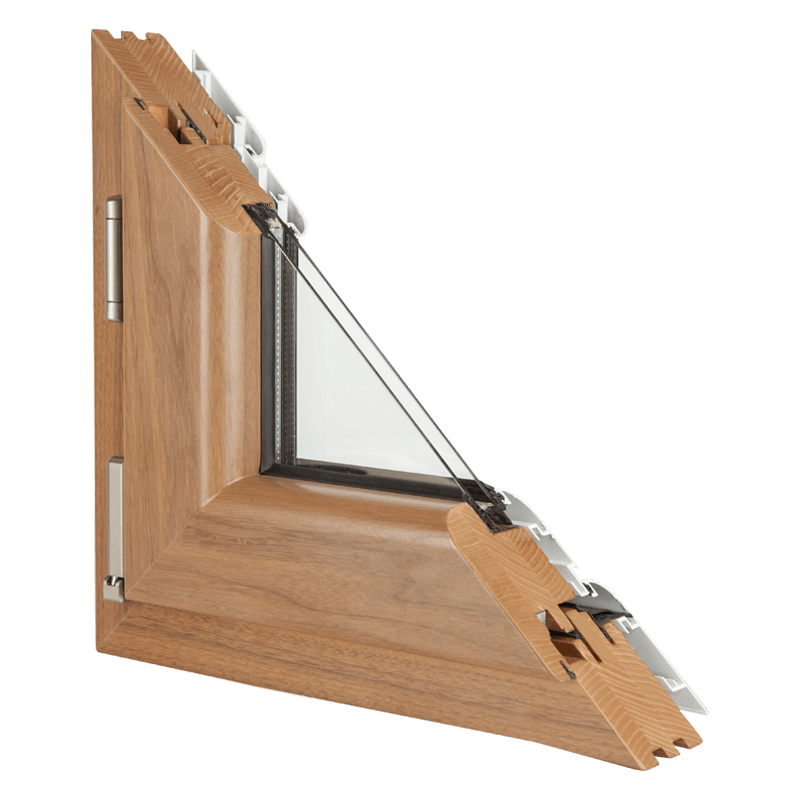 Drvo aluminijum prozori - profil Klasik
