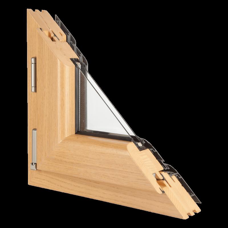 Drvo aluminijum prozori - profil Klasik hrast