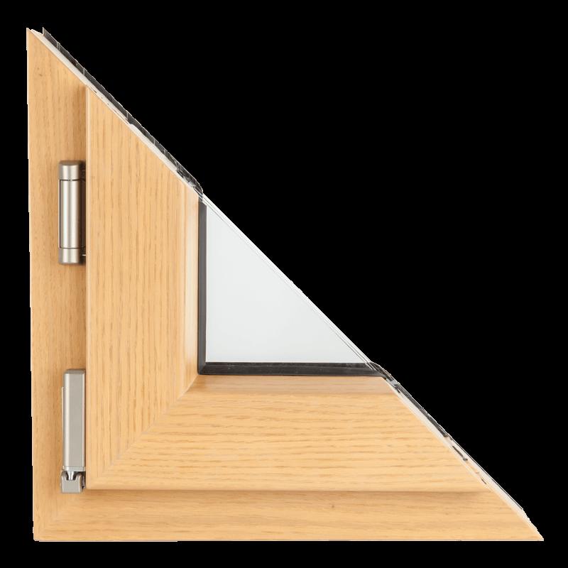 Drvo aluminijum prozori - profil Polar 120mm