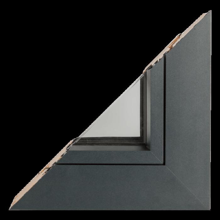 Drvo aluminijum prozori - profil Polar hrast 3