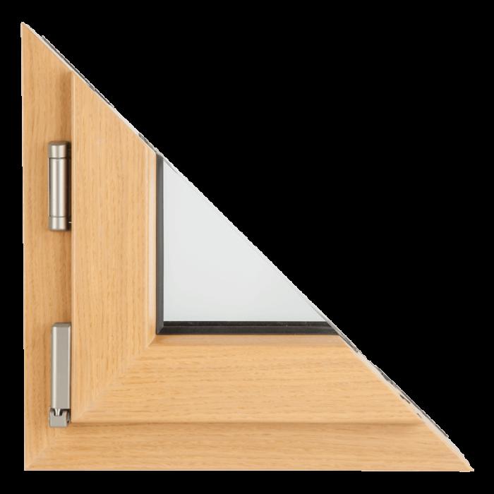 Drvo aluminijum prozori - profil premijum hrast 1